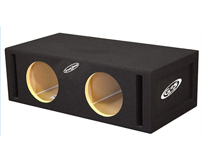 8″ Dual ported subwoofer Box 37-Hz By Ground Shaker
